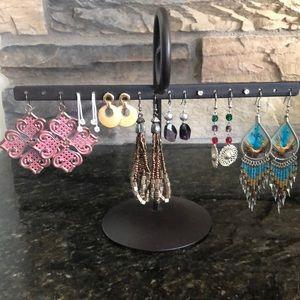 Fashion Earrings 8 pairs - Lot #2